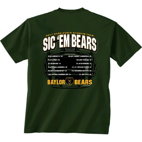 New World Graphics Men's Baylor University Football Schedule '17 T-shirt