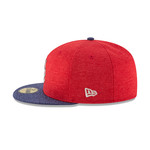 New Era Men's St. Louis Cardinals Stars and Stripes 2T '17 59FIFTY Cap - view number 5