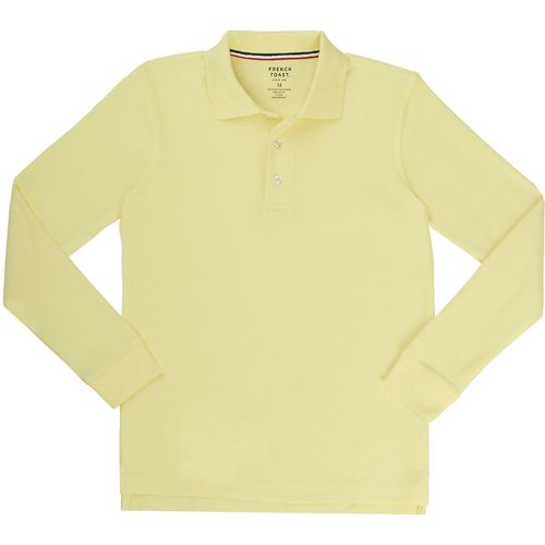 Display product reviews for French Toast Boys' Long Sleeve Pique Polo Shirt