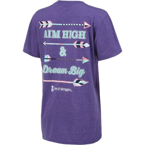 Love & Pineapples Women's Aim High T-shirt - view number 2
