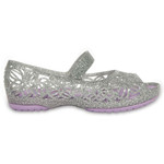 Crocs Girls' Isabella Glitter Flats - view number 1