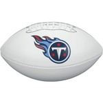 Wilson Tennessee Titans Team Logo Autograph Football - view number 1