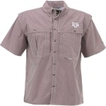 Drake Waterfowl Men's Texas A&M University Gameday Wingshooter's Short Sleeve Button-Down Sh - view number 1