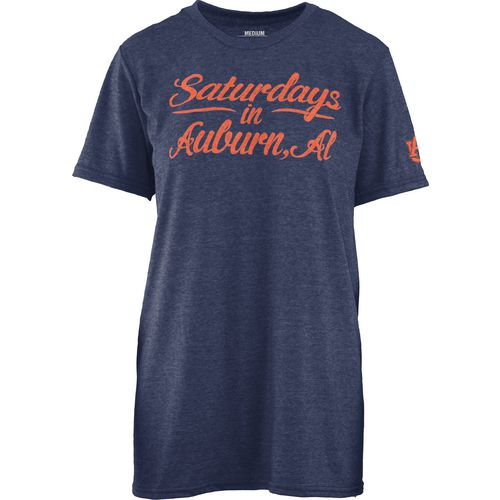 Three Squared Juniors' Auburn University Saturday T-shirt