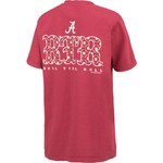 New World Graphics Women's University of Alabama Comfort Color Initial Pattern T-shirt - view number 2