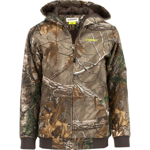 Display product reviews for Magellan Outdoors Kids' Grand Pass Camo Jacket