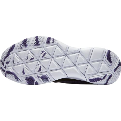 Nike Men's Texas Christian University Free Trainer V7 Week Zero Training Shoes - view number 6