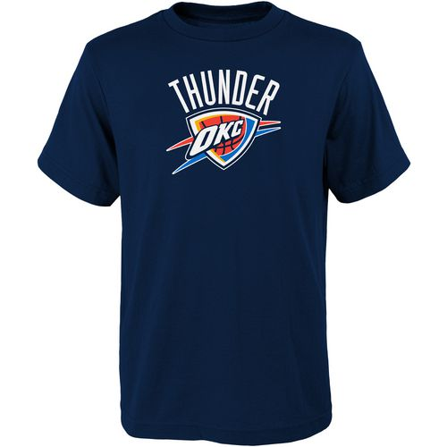 NBA Boys' Oklahoma City Thunder Primary Logo T-shirt