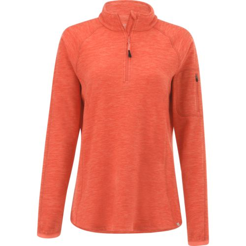 Display product reviews for BCG Women's Heathered Micro Fleece 1/4 Zip Pullover