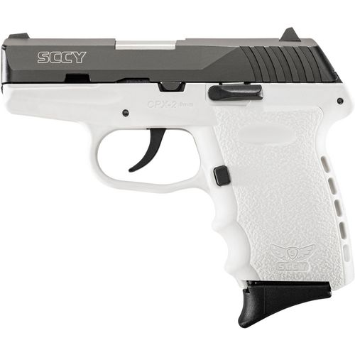SCCY CPX-2 Carbon White 9mm Pistol