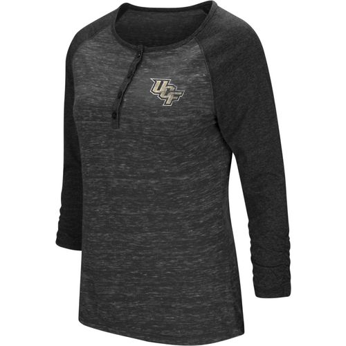 Colosseum Athletics Women's University of Central Florida Slopestyle 3/4 Sleeve Henley