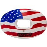 Battle Oxygen American Flag Football Mouth Guard - view number 1