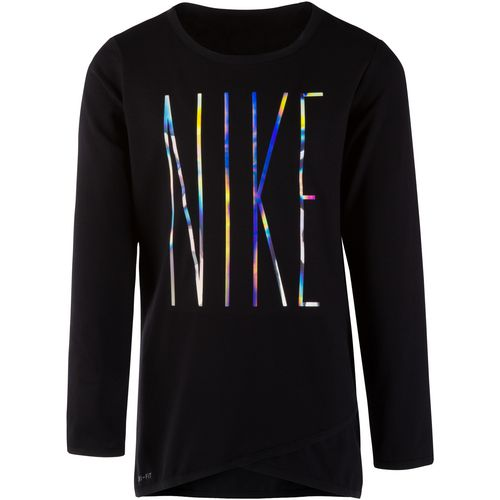 b484b40376 ... Nike Girls Dri-FIT Sport Essentials Crossover Tunic Nike Girls Smiley  Modern Long Sleeve ...