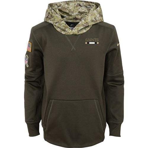 Nike Boys' New Orleans Saints Salute to Service Hoodie