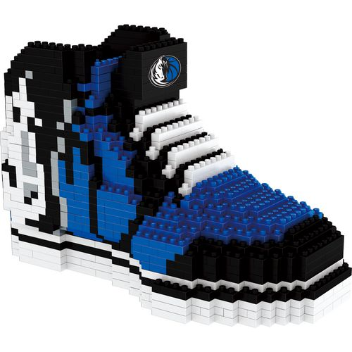 Forever Collectibles Dallas Mavericks BRXLZ 3-D Sneaker Puzzle