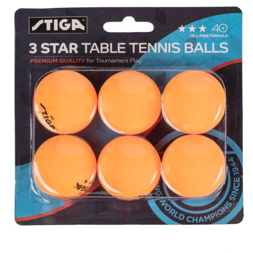 Stiga 3-Star Table Tennis Balls 6-Pack - view number 2