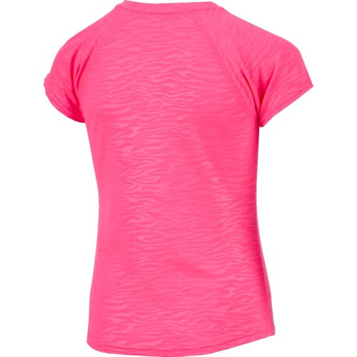 BCG Girls' Embossed Turbo Training T-shirt - view number 2
