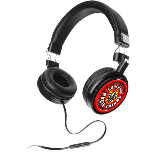 Mizco University of Louisiana at Lafayette 4D Logo Headphones