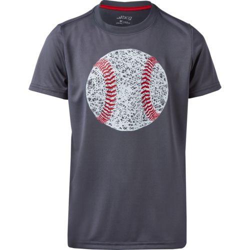 BCG Boys' Baseball Hayball Short Sleeve Glow In The Dark T-shirt