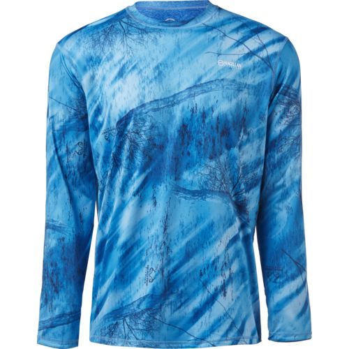 Magellan Outdoors Men's Realtree Fishing CoolCore Reversible Long Sleeve T-shirt