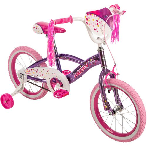 Huffy Girls' N'Style Metaloid 16 in Bicycle