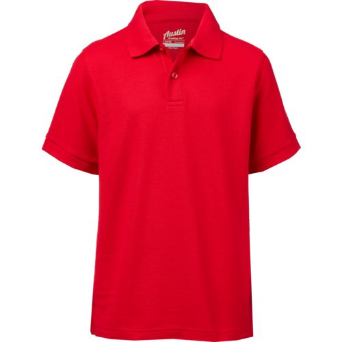 Austin Trading Co. Boys' Uniform Pique Polo Shirt