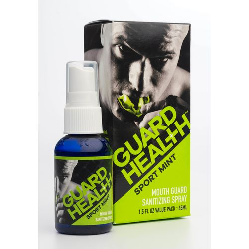 Display product reviews for Guard Health Mouth Guard Sanitizing Spray