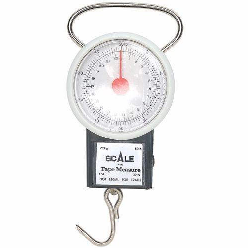 Tournament Choice® 50 lb. Fishing Scale with Tape Measure