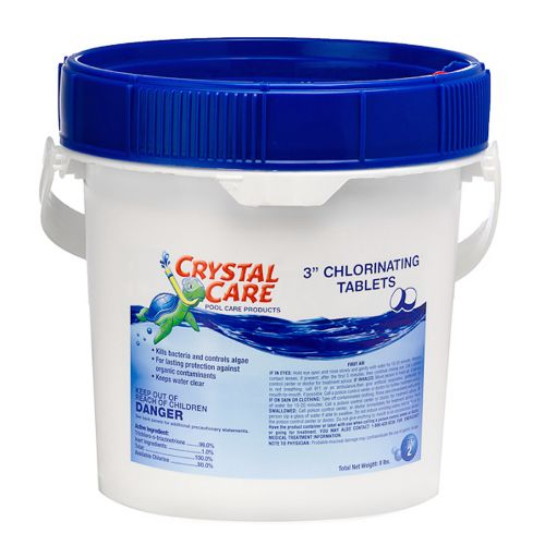 Crystal Care 3' Chlorinating Tablets