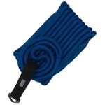 "Marine Raider 1/2"" x 25' Blue Double-Braided Dock Line"