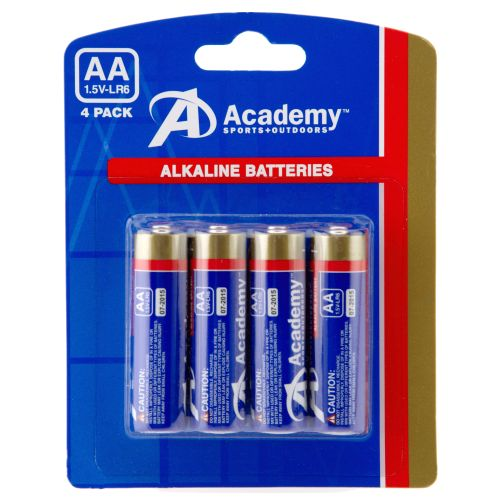 Academy AA Batteries 4-Pack