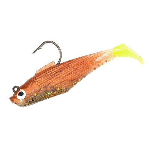 "H&H Lure The Usual Suspects 3"" Swagger Tail Shad Soft Baits 4-Pack"