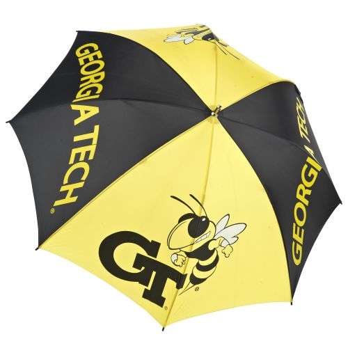 Image for Storm Duds Georgia Tech Wide Panel Golf Umbrella from Academy
