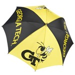Storm Duds Georgia Tech Wide Panel Golf Umbrella