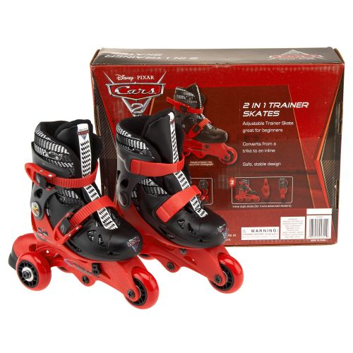 Cars Kids' Convertible 2-in-1 Trainer Skates
