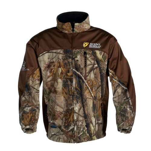 Bone Collector Men's WindBlocker® Softshell Camo Jacket