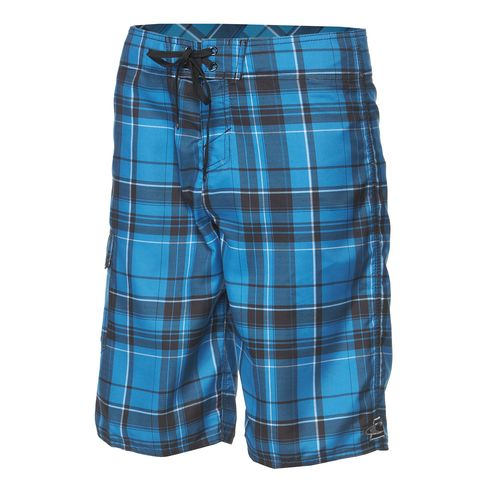 O'Neill Boys' Santa Cruz Plaid 2 Board Short