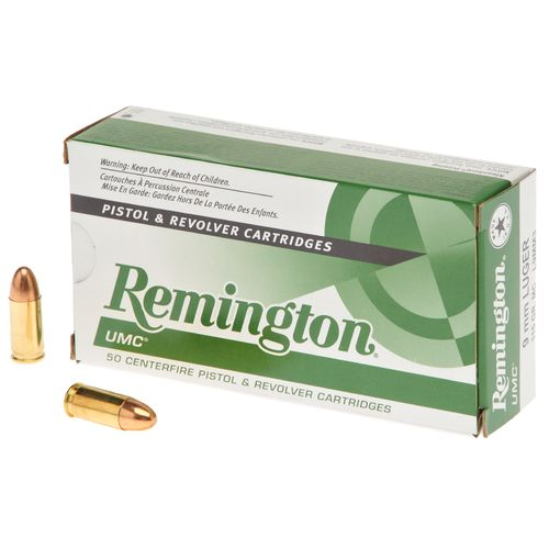 Remington UMC® 9mm Luger 115-Grain Centerfire Handgun Ammunition