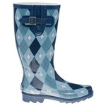 Stone Creek™ Women's Argyle Rubber Boots