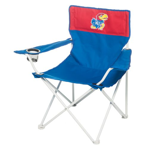 Logo Chair University of Kansas Canvas Chair