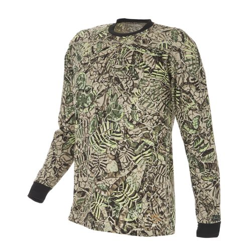 Brush Country Camouflage Men's Allover Mesquite Pattern Camo Long Sleeve Shirt