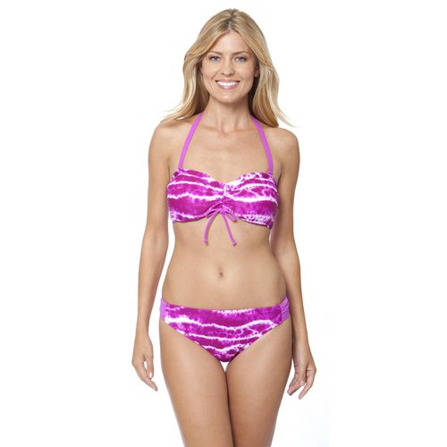 Malibu Women's Fit To Be Tied Bandeau Swim Top