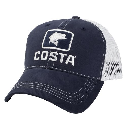 costa del mar adults 39 bass xl trucker hat academy