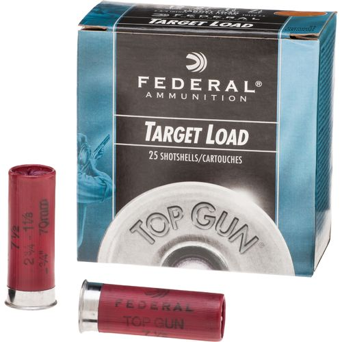 Display product reviews for Federal Premium® Top Gun® Target 12 Gauge 7.5 Shotshells