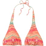 O'Neill Juniors' Sunsets Slide Halter Swim Top