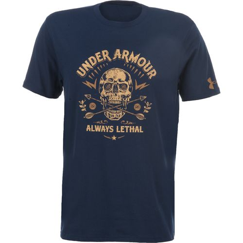 Under Armour  Men s Charged Cotton  Lethal Skull T-shirt