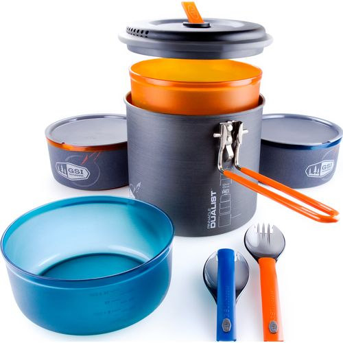 GSI Outdoors Pinnacle Dualist Cooking and Eating Set