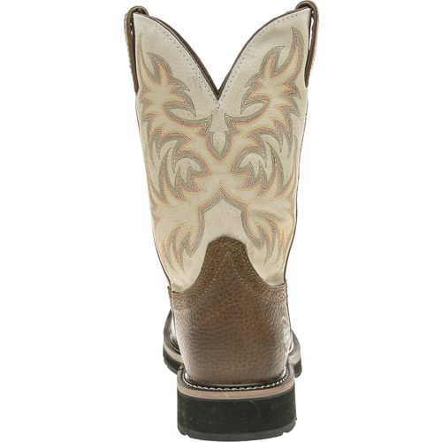Justin Men's Copper Kettle Cowhide Western Work Boots - view number 4