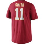 Nike Men's Kansas City Chiefs Alex Smith 11 Player Pride T-shirt - view number 2