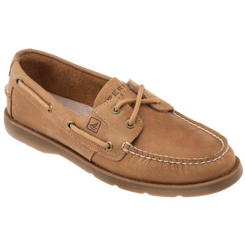 Sperry Women's ANGELFISH tan boat shoes 9102047